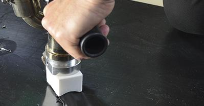 Cómo utilizar la extrusora manual para soldar por extrusión